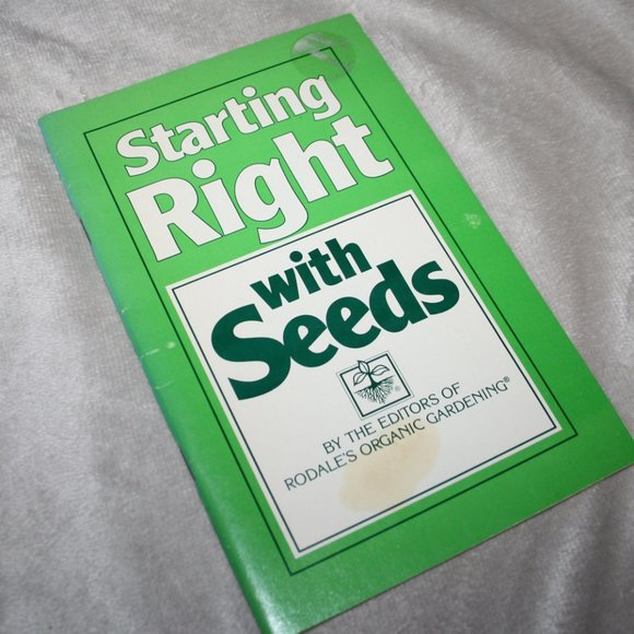 1986 Starting right with seeds book